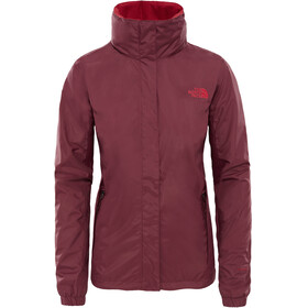 The North Face Resolve 2 Jas Dames rood